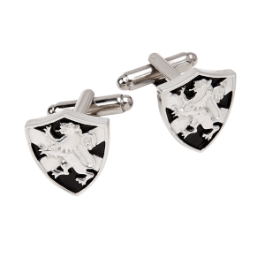 Saltire Shield Lion Rampant Cufflinks