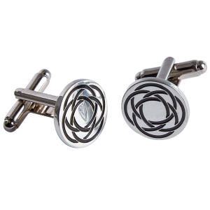 Celtic Cufflinks Round