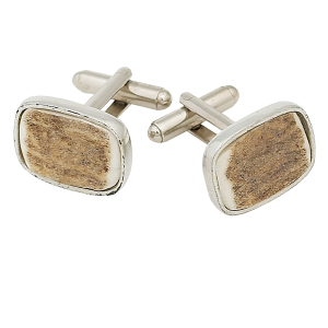 Scottish Cufflinks Staghorn