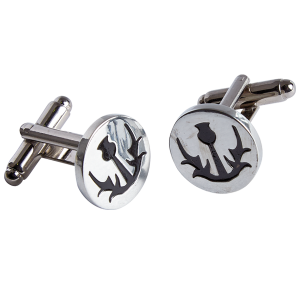 Thistle Simple Cufflinks