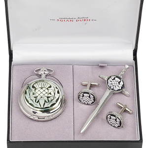 Thistle Watch Gift Set