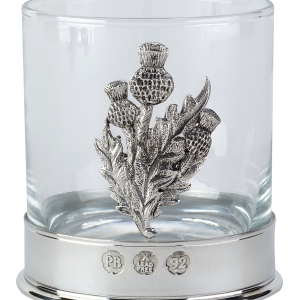 Whisky Thistle Glass