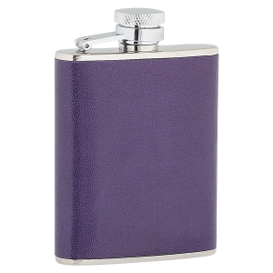 3oz ladies purple flask