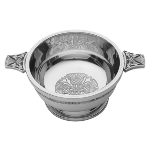 4 thistle pewter