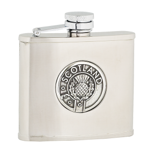 4oz scotland stainless flask