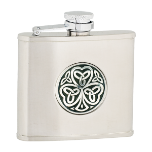 shamrock stainless flask