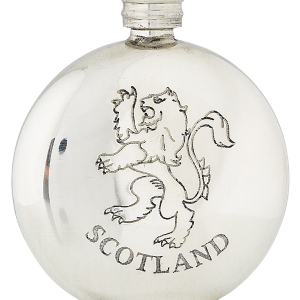 6oz lion rampant flask