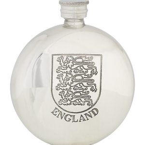 6oz three lions flask