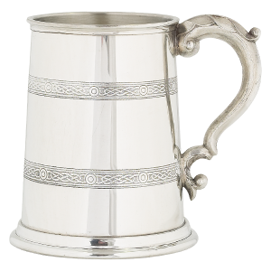 celtic pint tankard