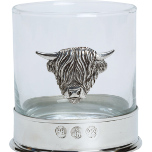 cow whisky glass